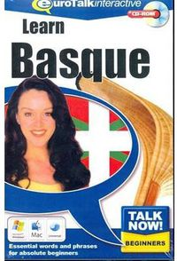 (2 ED) EUROTALK INTERACTIVE - TALK NOW! BASQUE - BEGINNERS