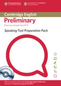 SPEAKING TEST PREPARATION PACK FOR PRELIMINARY ENGLISH TEST (PET)  (+DVD)