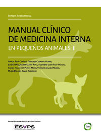 MANUAL CLINICO DE MEDICINA INTERNA EN PEQUEÑOS ANIMALES II