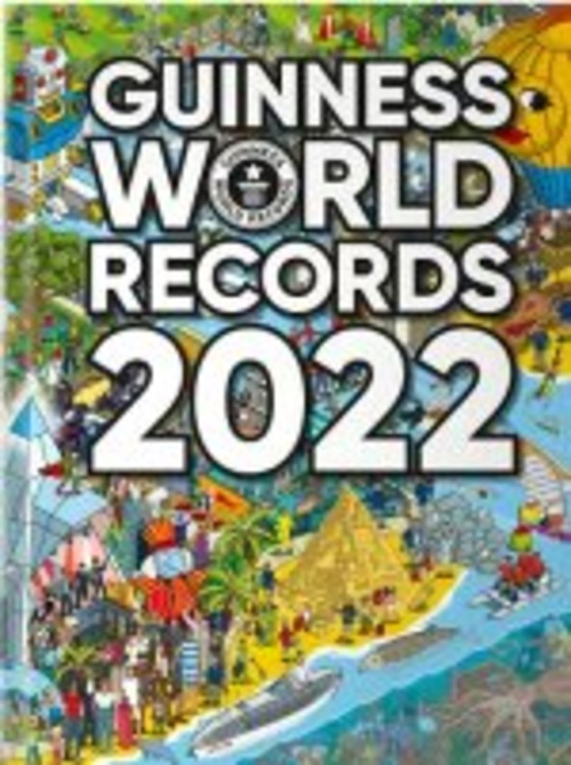GUINNESS WORLD RECORDS 2022 (ENGLISH)