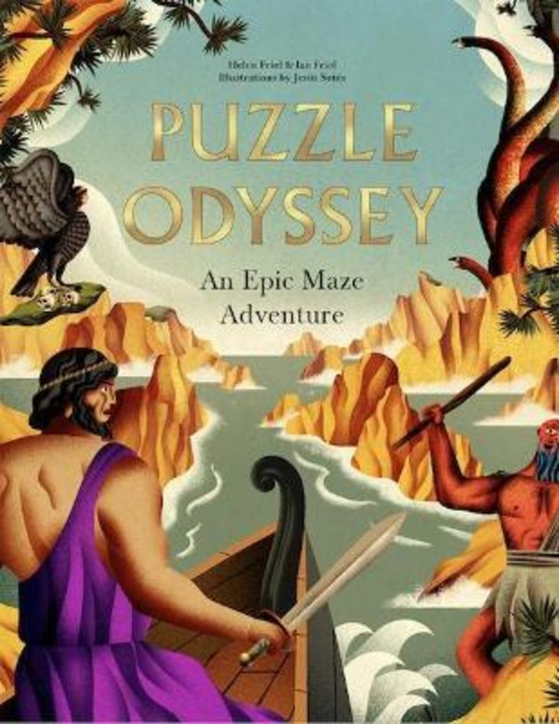 PUZZLE ODYSSEY - AN EPIC MAZE ADVENTURE
