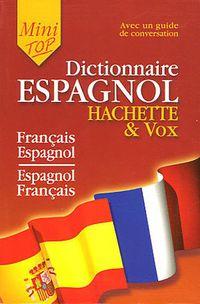 DICTIONNAIRE ESPAGNOL MINI TOP - FRAN / ESP ESP / FRAN