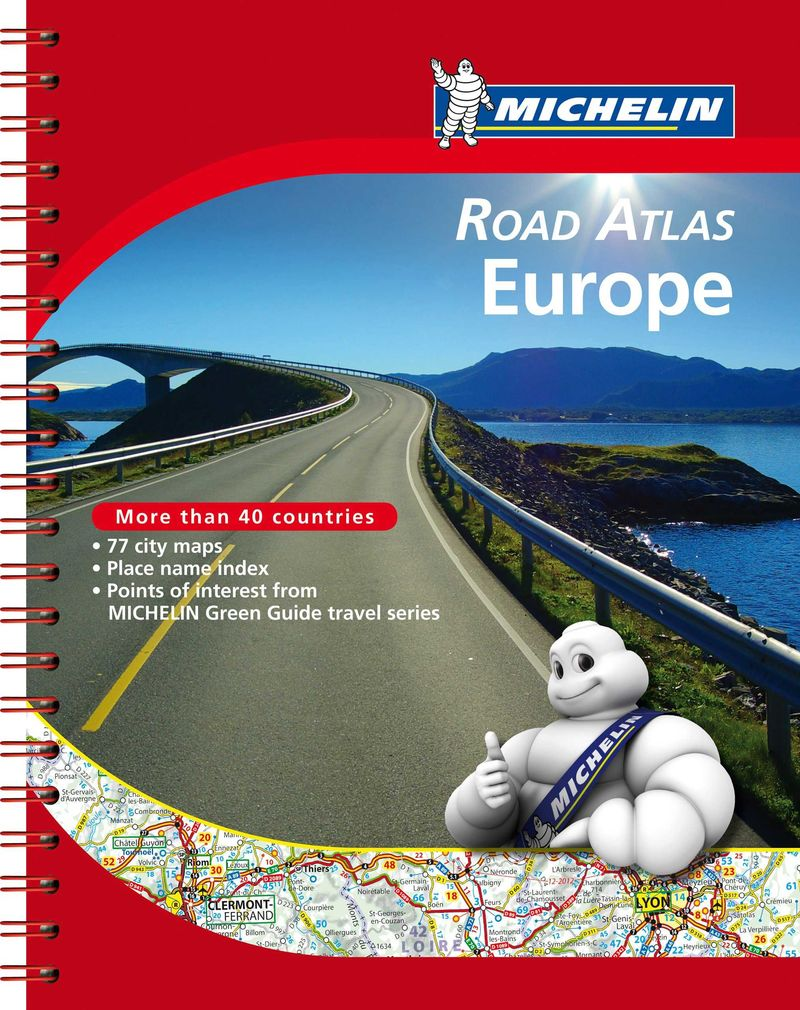 ROAD ATLAS EUROPE (2020)