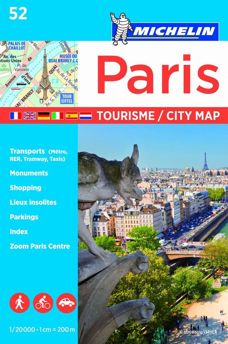 PLANO PLEGADO PARIS TOURISME (2017)