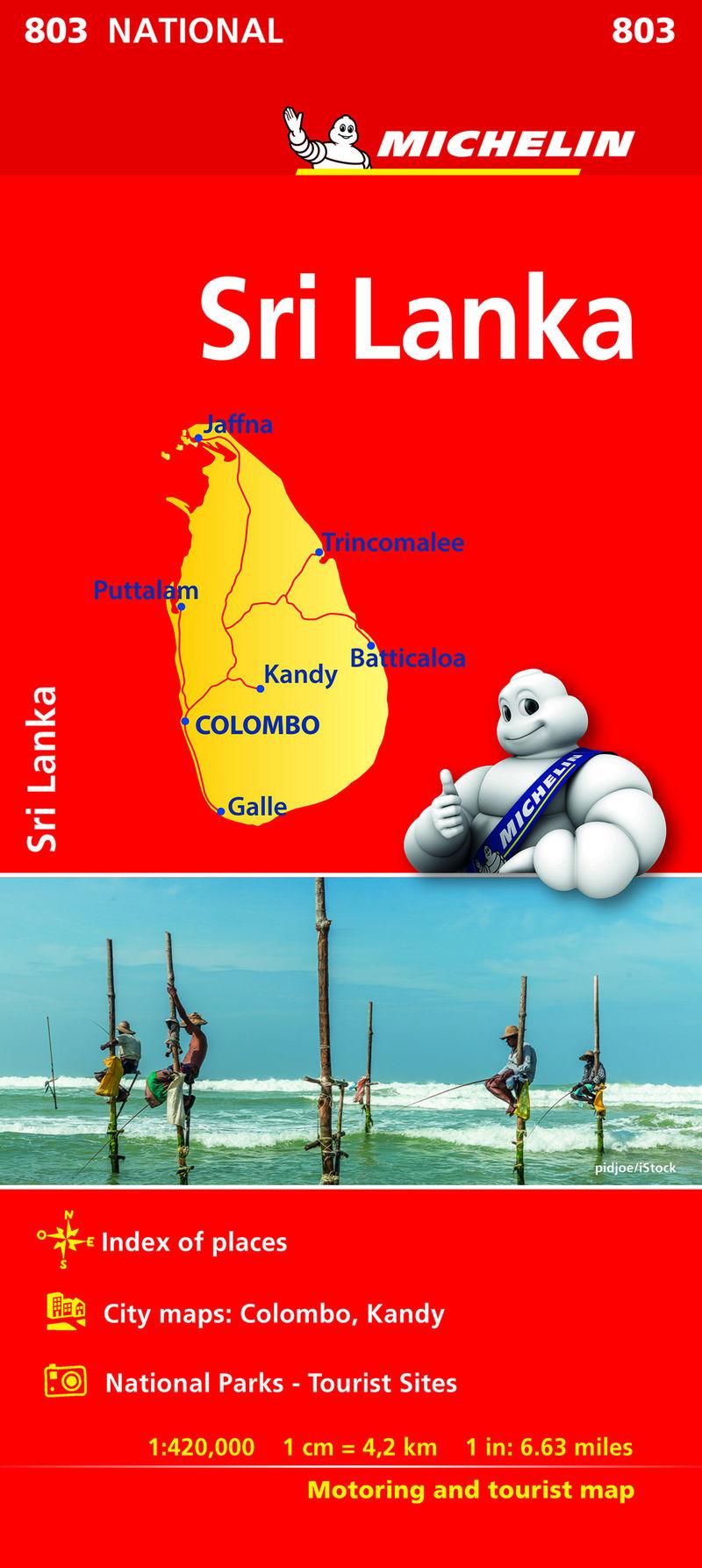 MAPA NATIONAL NATINAL SRILANKA (2018)