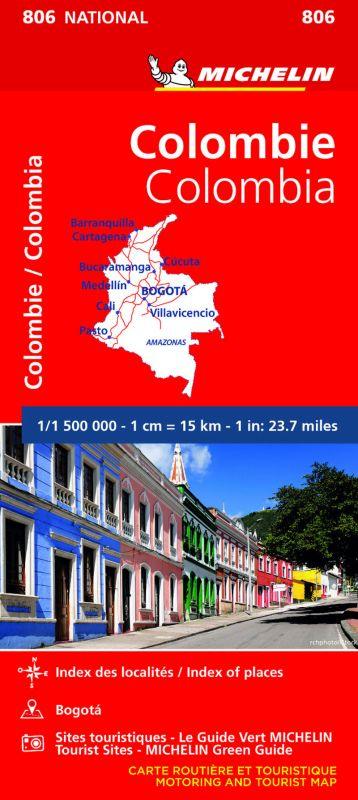 MAPA NATIONAL COLOMBIA 806 (2020)