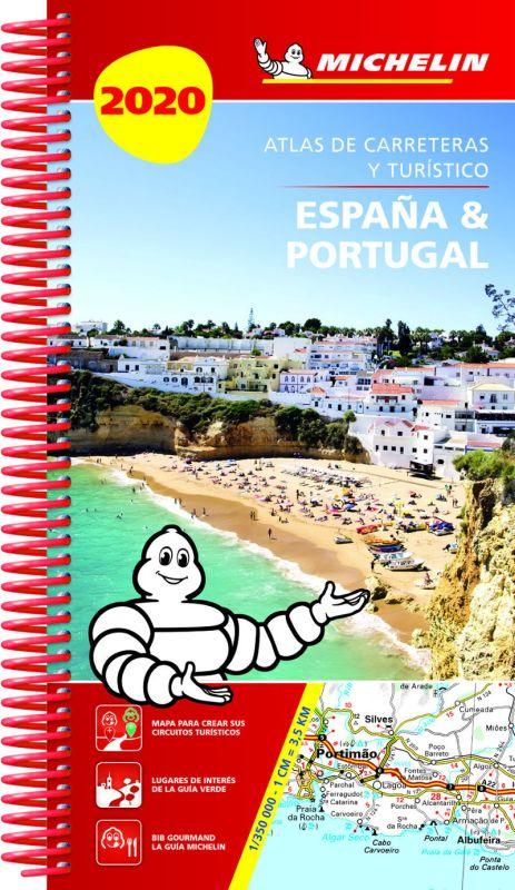 ATLAS DE CARRETERAS Y TURISTICO ESPAÑA / PORTUGAL 4464 (2020)