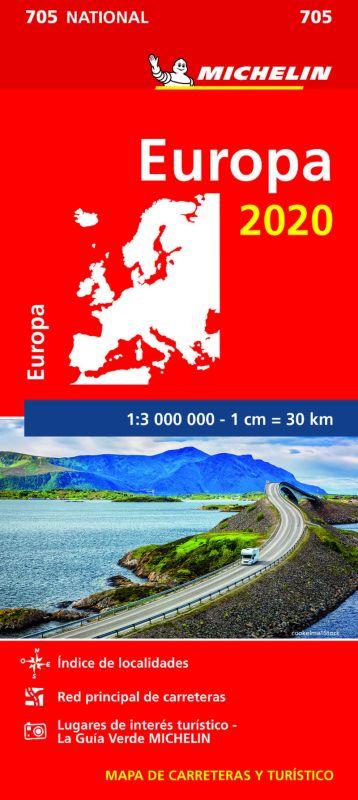 MAPA NATIONAL EUROPA 705 (2020)