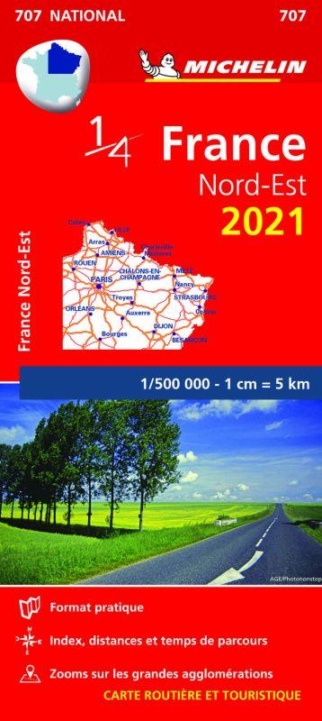 MAPA NATIONAL FRANCE NORD-EST 2021 (11707)