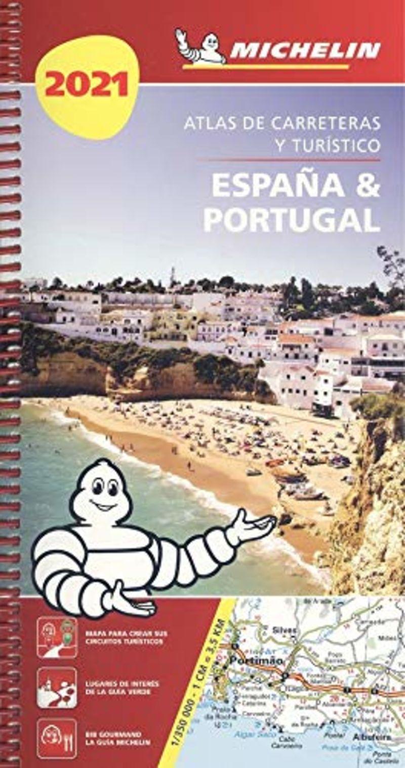 ATLAS DE CARRETERAS Y TURISTICO ESPAÑA & PORTUGAL 4464 (2021)