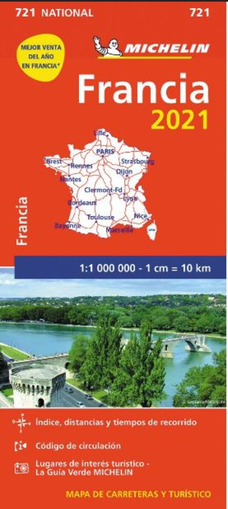MAPA NATIONAL FRANCIA 721 (2021)