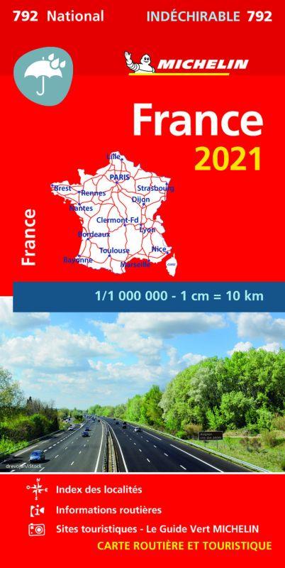 MAPA NATIONAL FRANCE 2021 - ALTA RESISTENCIA (17792)