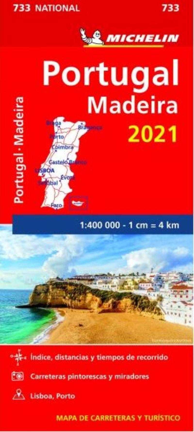 MAPA NATIONAL PORTUGAL, MADEIRA 2021 (11733)