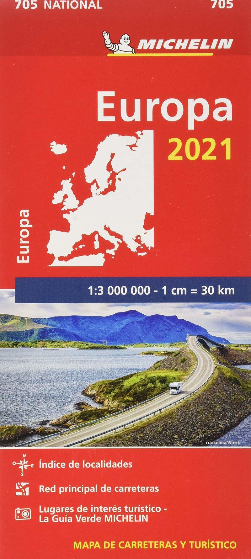 MAPA NATIONAL EUROPA 705 (2021)