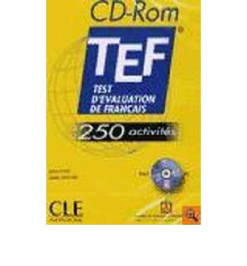 TEST D'EVALUATION DE FRANÇAIS 250 ACTIVITES CD-ROM