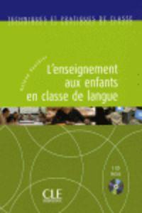 (CD) L'ENSEIGNEMENT AUX ENFANTS EN CLASSE DE LANGUE