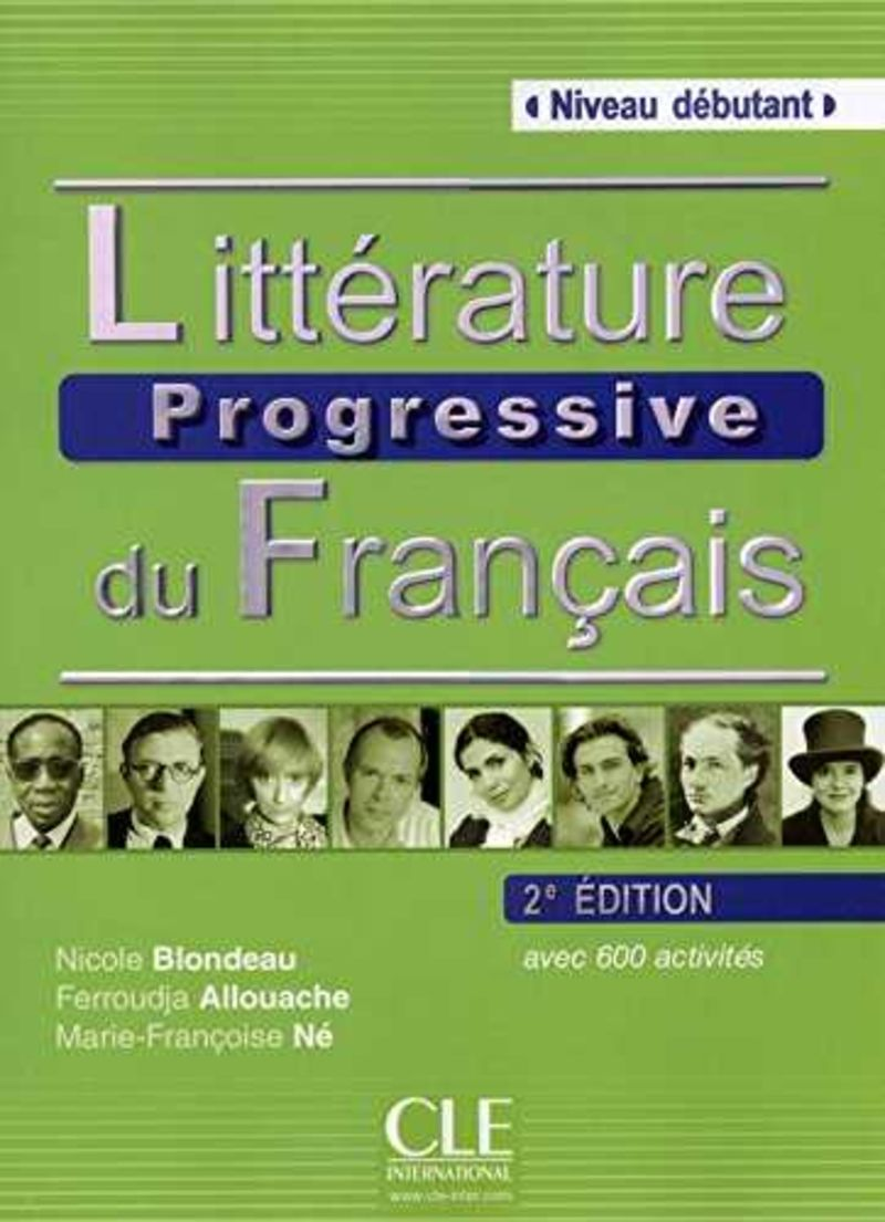 (2 ED) LITTERATURE PROGRESSIVE DU FRANÇAIS - DEBUTANT (+CD)