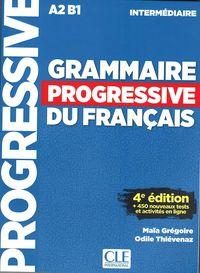 (4 ED) GRAMMAIRE PROGRESSIVE DU FRANÇAIS - INTERMEDIAIRE (A2-B1) (+CD)