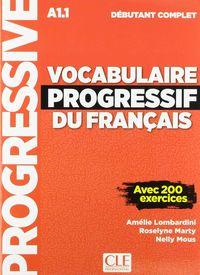 Vocabulaire Progressif Du Français (+cd) - Debutant Complet - Amelie Lombardini