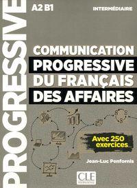 Communication Progressive Du Français Des Affaires - Niveau Intermediaire - Nouvelle Couverture - Jean-Luc Penfornis