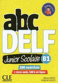 (2 Ed) Abc Delf Junior Scolaire B1 (+dvd-Rom) - Adrien Payet