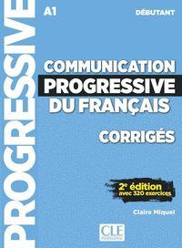 (2 Ed) Communication Progressive Du Français - Corriges - Debutant - Nouvelle Couverture - Claire Miquel