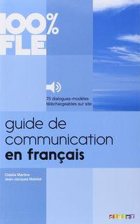 GUIDE DE COMMUNICATION EN FRANÇAIS A1 / B2 (+MP3)