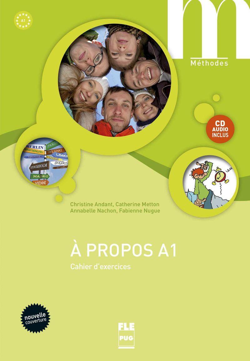 A PROPOS A1 - CAHIER (+CD)