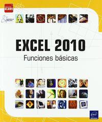 EXCEL 2010 - FUNCIONES BASICAS