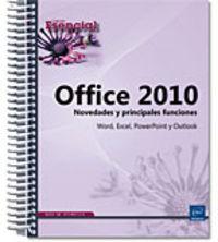 OFFICE 2010 - NOVEDADES Y PRINCIPALES FUNCIONES