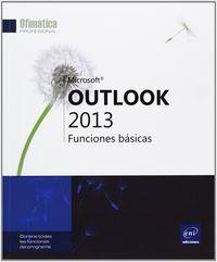 OUTLOOK 2013 - FUNCIONES BASICAS