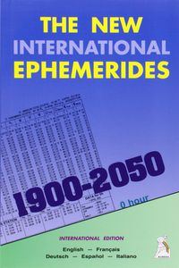NEW INTERNATIONAL EPHEMERIDES, THE (1900-2050)