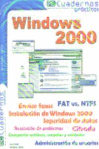 WINDOWS 2000 - CUADERNOS PRACTICOS