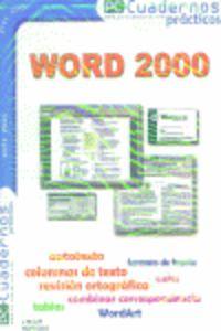 WORD 2000 - CUADERNOS PRACTICOS