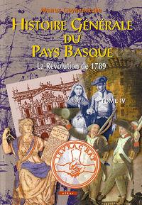 HISTOIRE GENERALE PAYS BASQUE IV