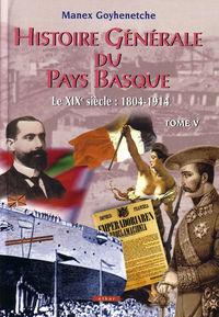 HISTOIRE GENERALE PAYS BASQUE V