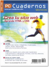 CREA TU SITIO WEB - APRENDE HTML YCSS