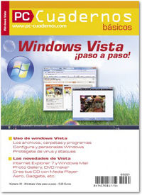 WINDOWS VISTA PASO A PASO - CUADERNOS BASICOS