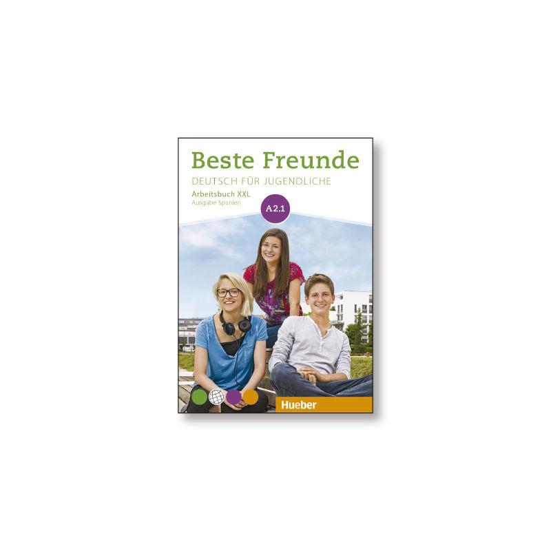 Beste Freunde A2.1 Arbeitsbuch-Xxl Ausg. Span - Aa. Vv.