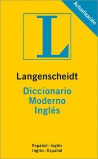 DICC. MODERNO ESP / ING - ING / ESP