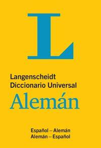 Dicc. Universal Aleman / Español - Aa. Vv.