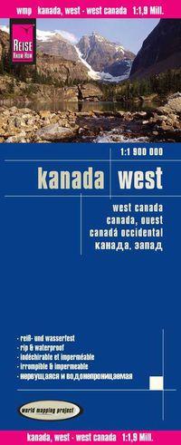 Mapa Canada Oeste 1: 1900000 - Aa. Vv.