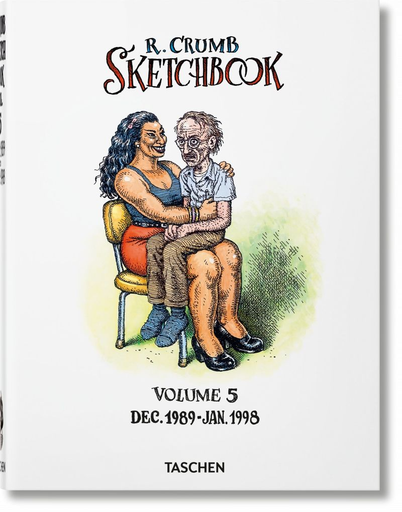 ROBERT CRUMB - SKETCHBOOK 5 (1989-1998)