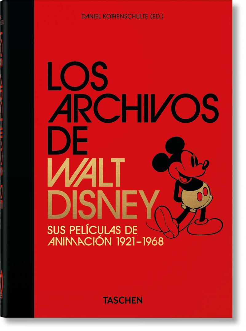 ARCHIVOS DE WALT DISNEY, LOS - SUS PELICULAS DE ANIMACION (40TH ANNIVERSARY EDITION)