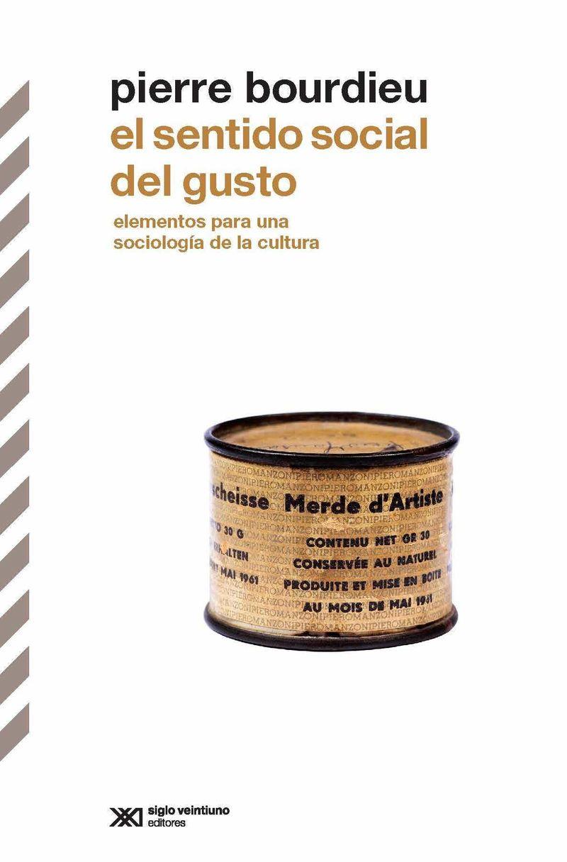 El sentido social del gusto - Pierre Bourdeiu