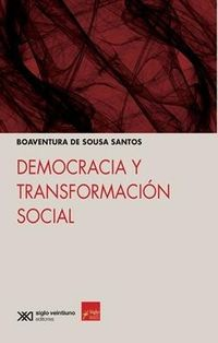 Democracia Y Transformacion Social - Boaventura De Sousa Santos