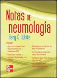 NOTAS DE NEUMOLOGIA