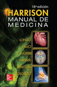 (18ª Ed. )  Harrison - Manual De Medicina - Dan L.  Longo  /  [ET AL. ]