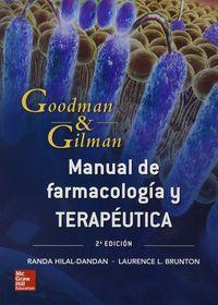 (2 ED) MANUAL DE FARMACOLOGIA Y TERAPEUTICA