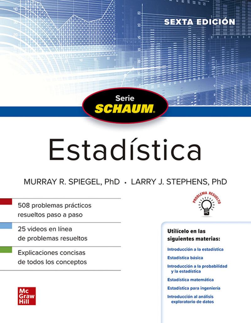 (6 ED) ESTADISTICA (SCHAUM)